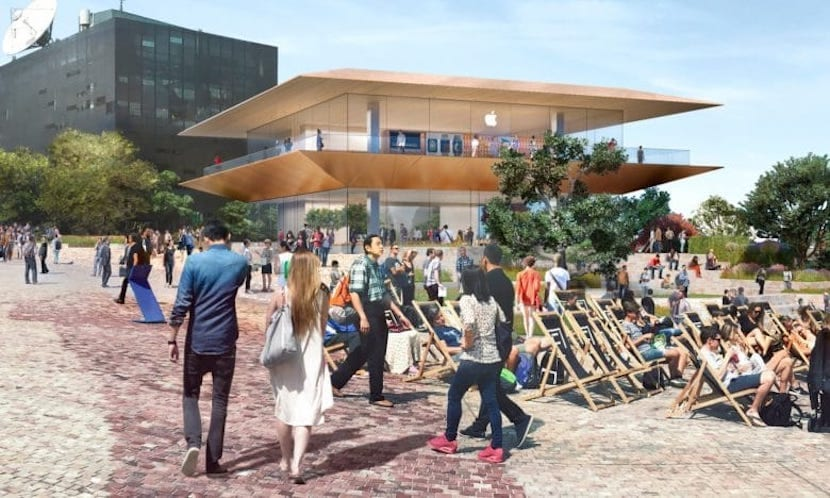 Apple Store Federation Square en Australia