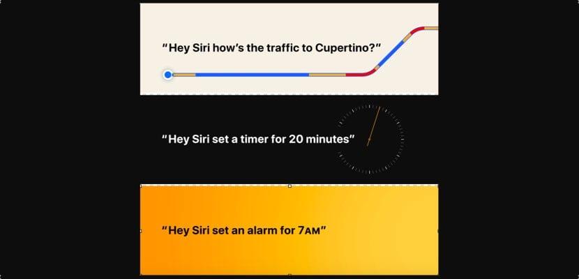 ordenes Siri en homePod