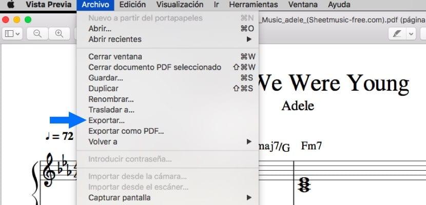 reducir el tamaño de un PDF en Mac