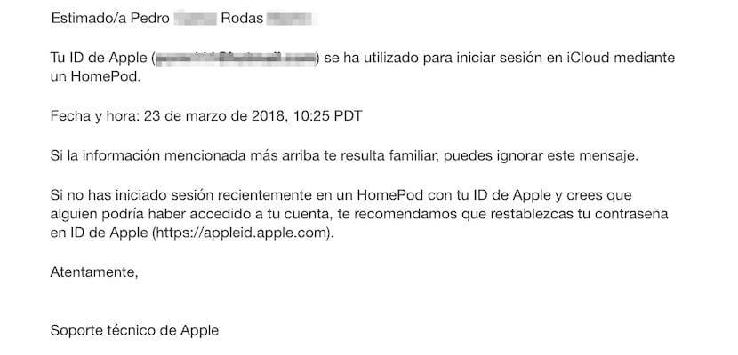 Correo ID Apple