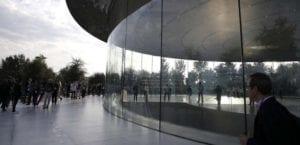Cristales del Apple Park