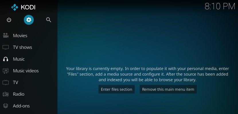 Instalación de Kodi en macOS
