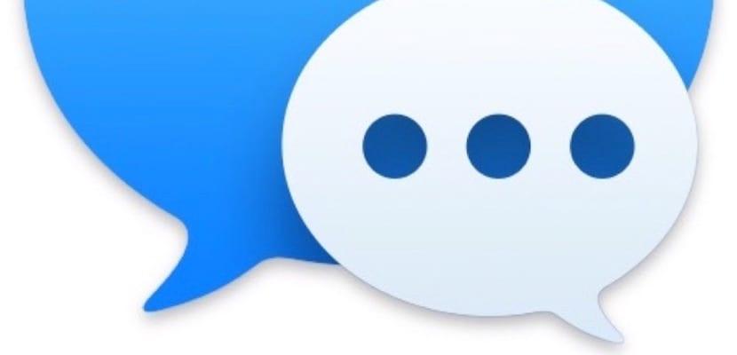 Icono Mensajes Apple