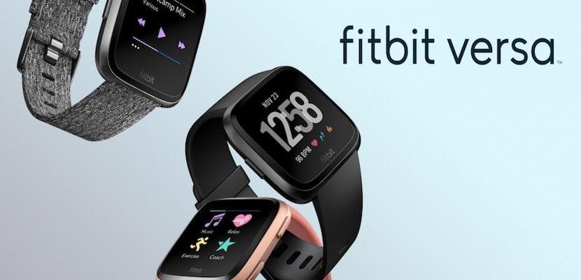 Publicidad del FitBit Versa
