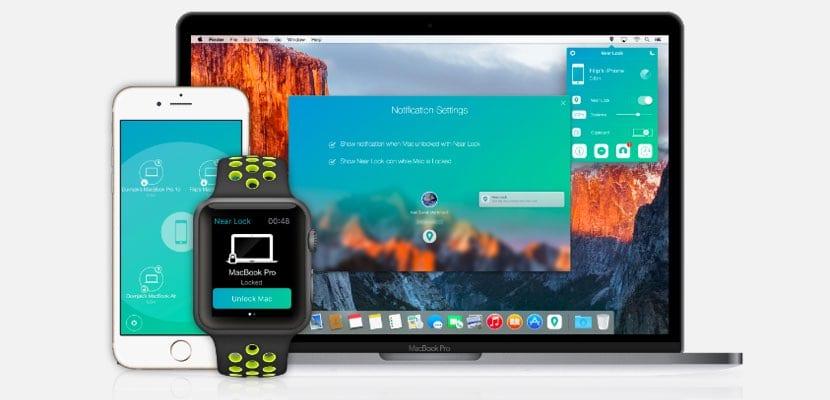 Near Lock bloquear desbloquear Mac desde iPhone