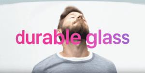 Los cristales en el iPhone X