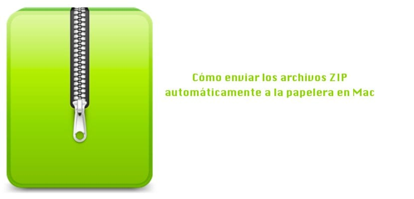 Tutorial archivos ZIP papelera macOS