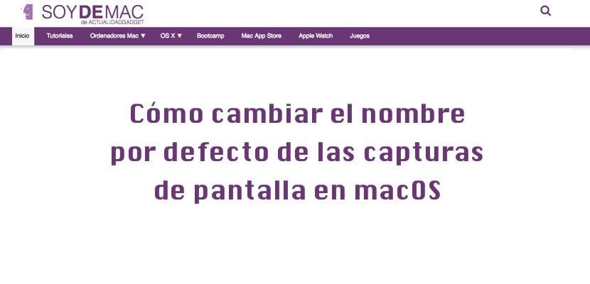 cambio nombre por defecto capturas pantalla macOS