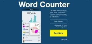 herramienta para escritores Word Counter