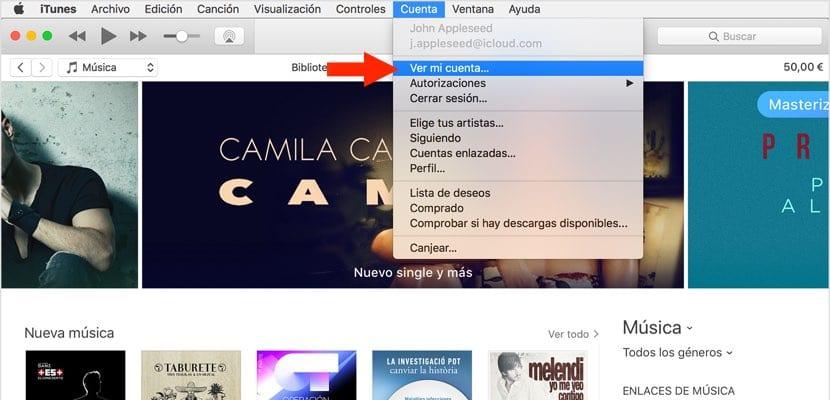iTunes pagos móviles desde un Mac