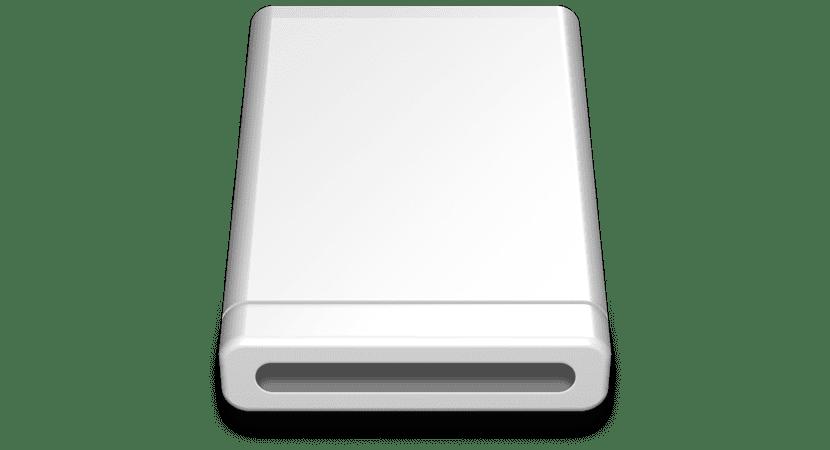 Icono unidad archivo DMG