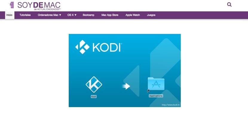 guía instalación Kodi en Mac