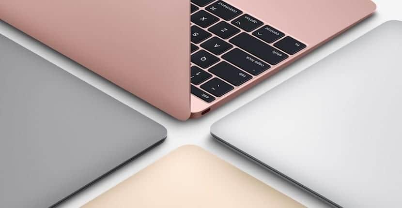 Modelos del MacBook