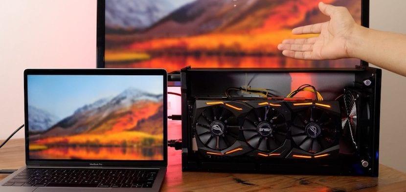 GPU en macOS High Sierra