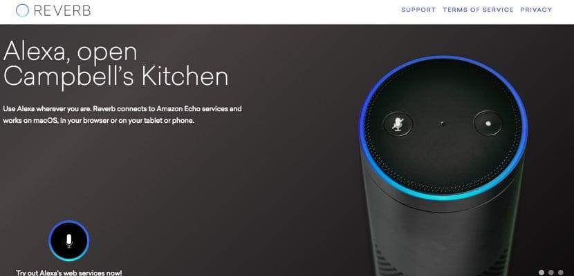 Alexa en macOS con Reverb