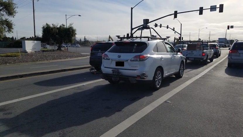 Vehículo conducción autónoma de Apple