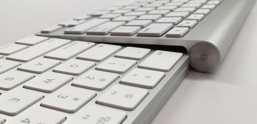 Comparativa teclados Apple