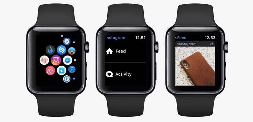 Instagram Apple Watch desaparece