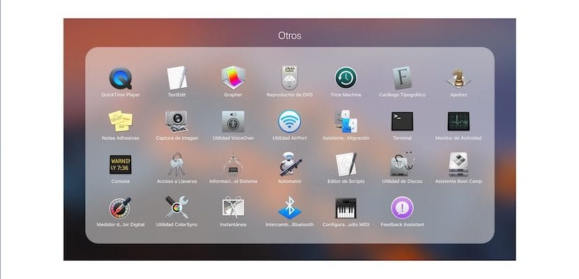 Llaveros en Mac