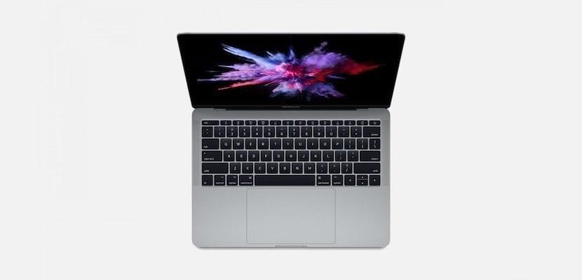 MacBook sin Touch Bar