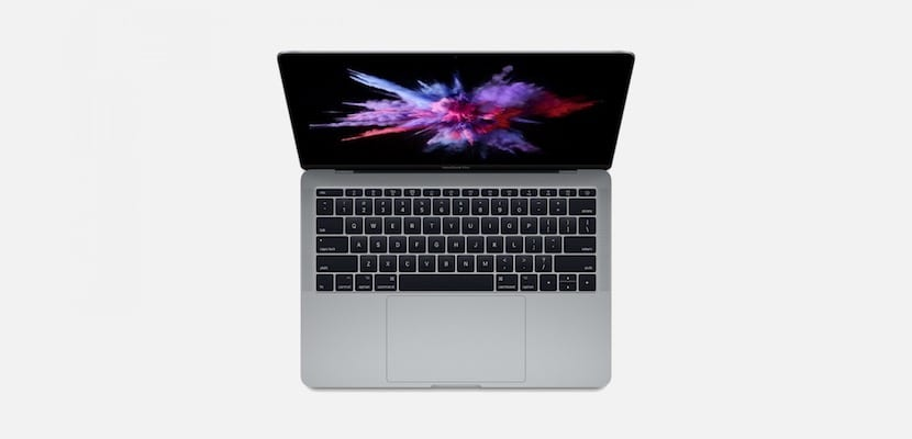MacBook sin Touch Bar