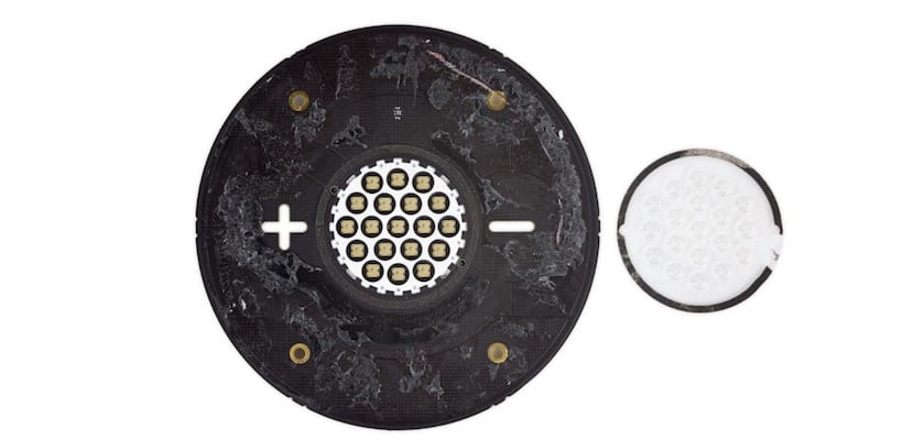 Matriz LED superior