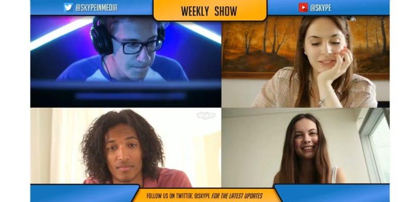 Skype modo creadores contenidos grabación