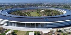 Vista Apple Park dron