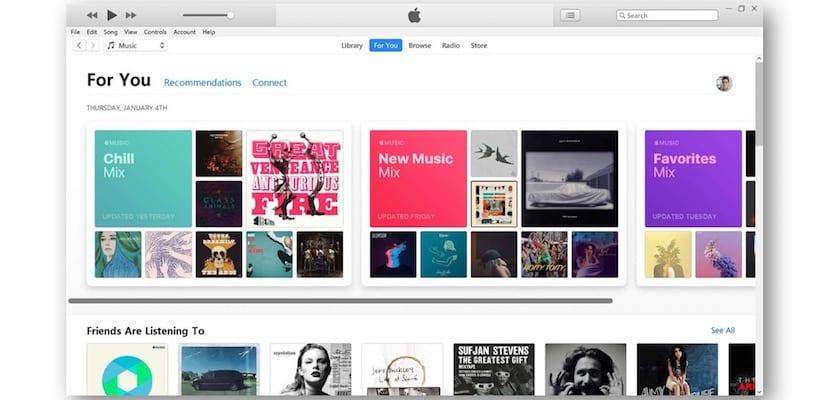 iTunes en PC