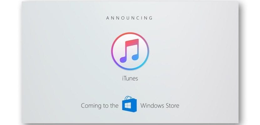 iTunes en Windows 10