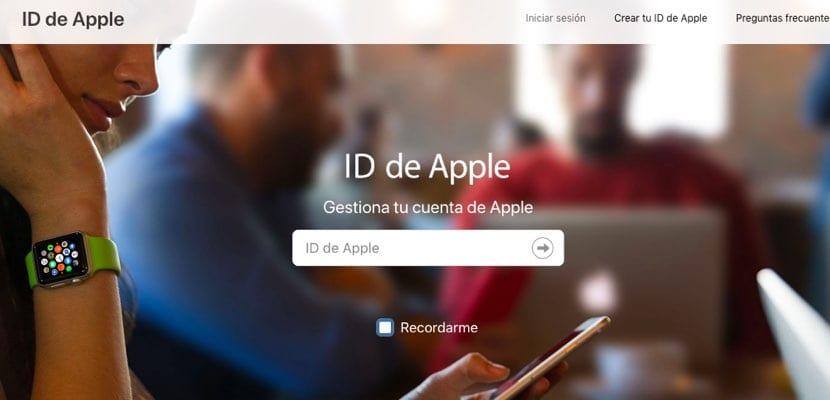 portal Apple ID