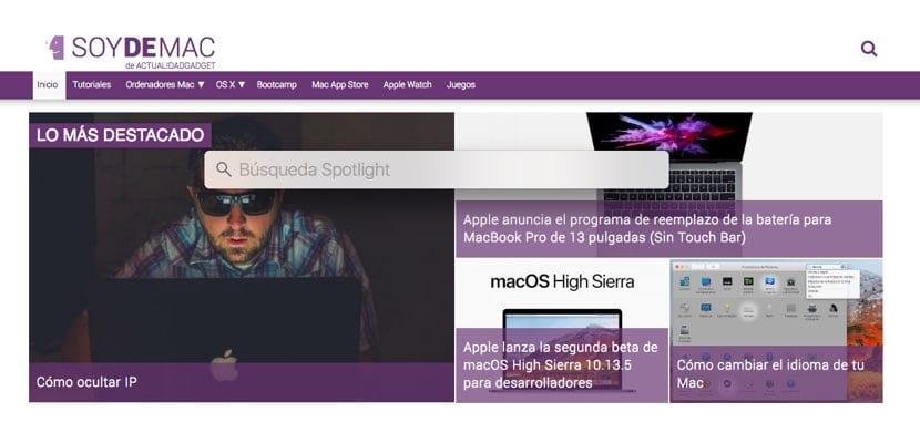 Spotlight macOS truco enlaces