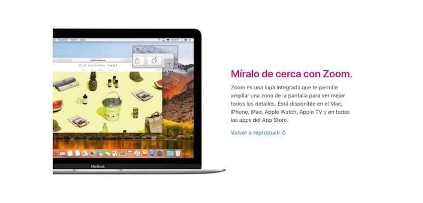 Accesibilidad Apple