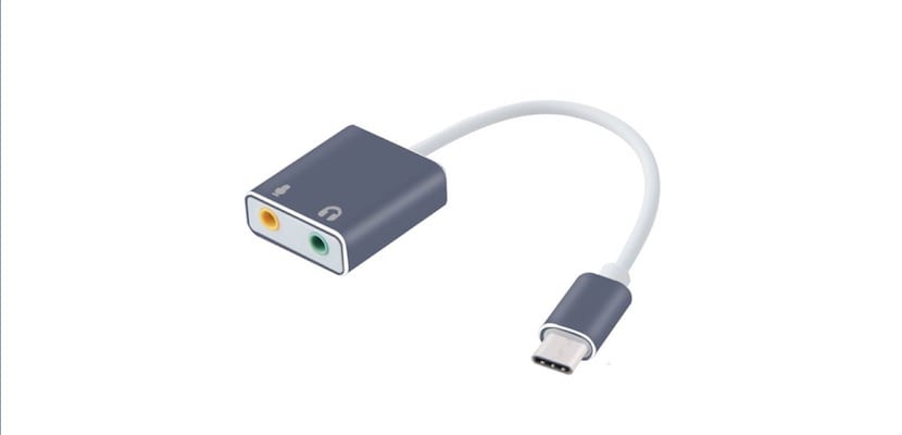 Adaptador USB-C audio