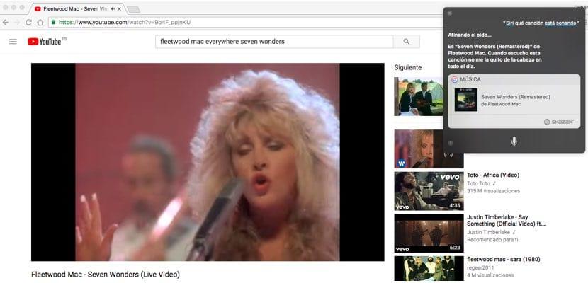 Descubriendo música con Siri en el Mac