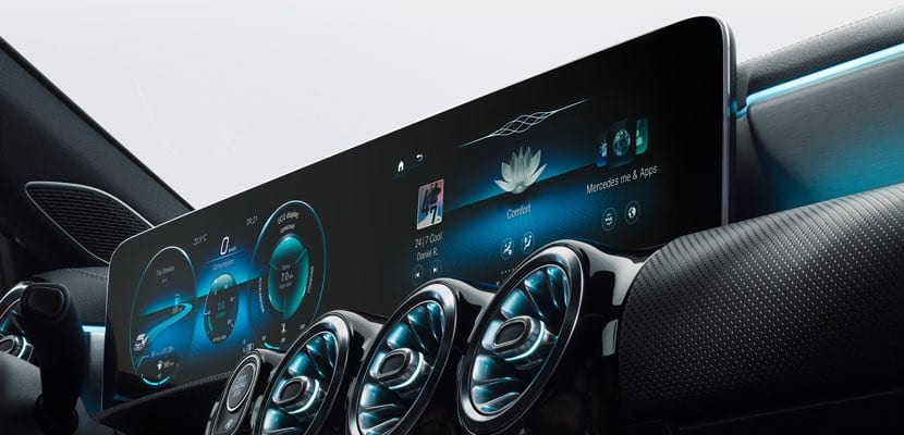 CarPlay Mercesdes-Benz MBUX