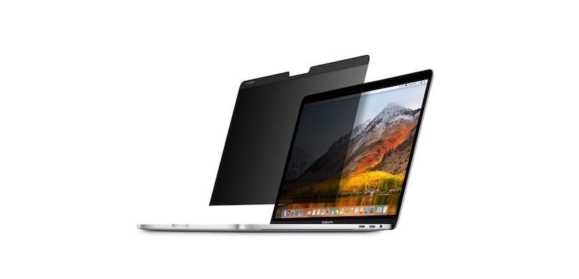 Protector pantalla MacBook Pro magnético