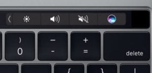 Touch Bar MacBook Pro