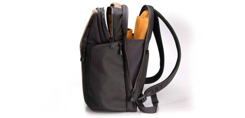 WaterField mochila Pro Executive Laptop Backpack lateral