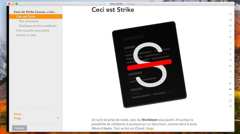 Prueba el editor de texto colaborativo Strike, basado en Markdown