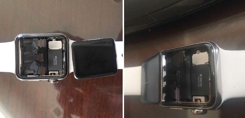 Apple Watch pantalla rota