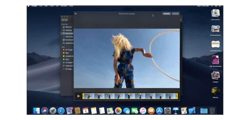 QuickLook macOS Mojavi-vídeo