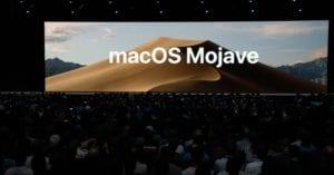 macOS Mojave presentación