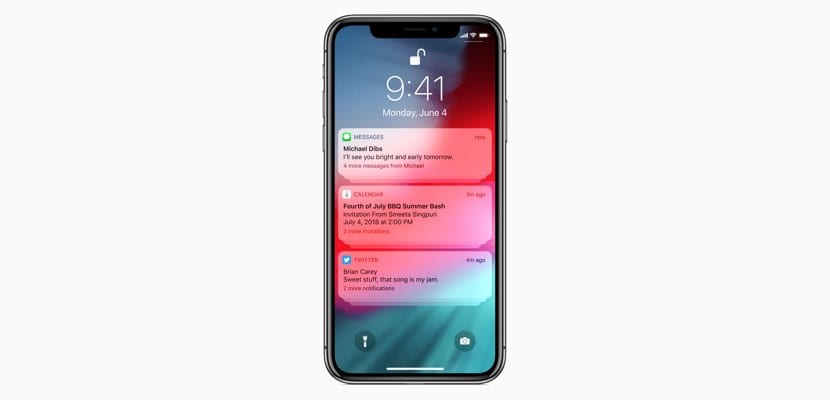 Notificaciones en iOS12