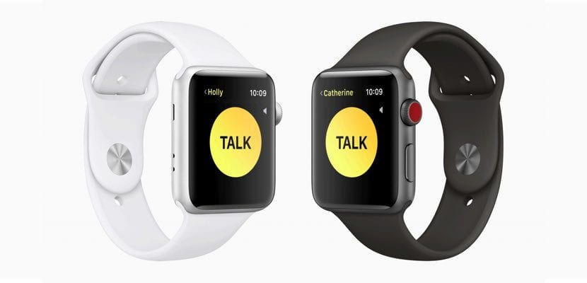 walkie talkie watchos5