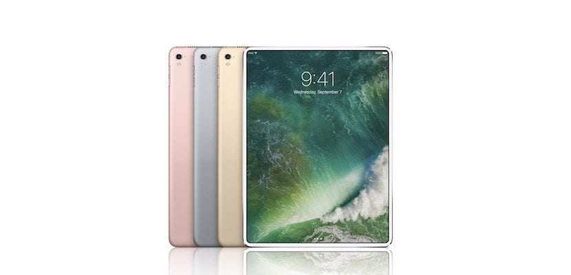 iPad sin bordes