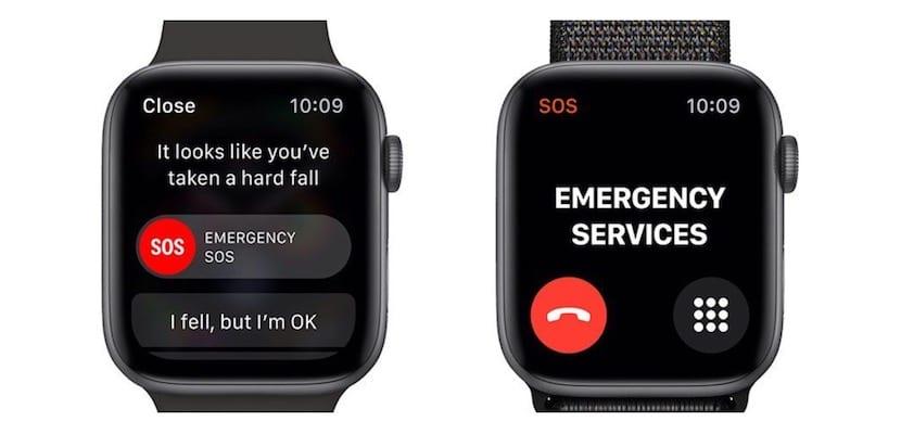 Detección caídas Apple Watch Series 4