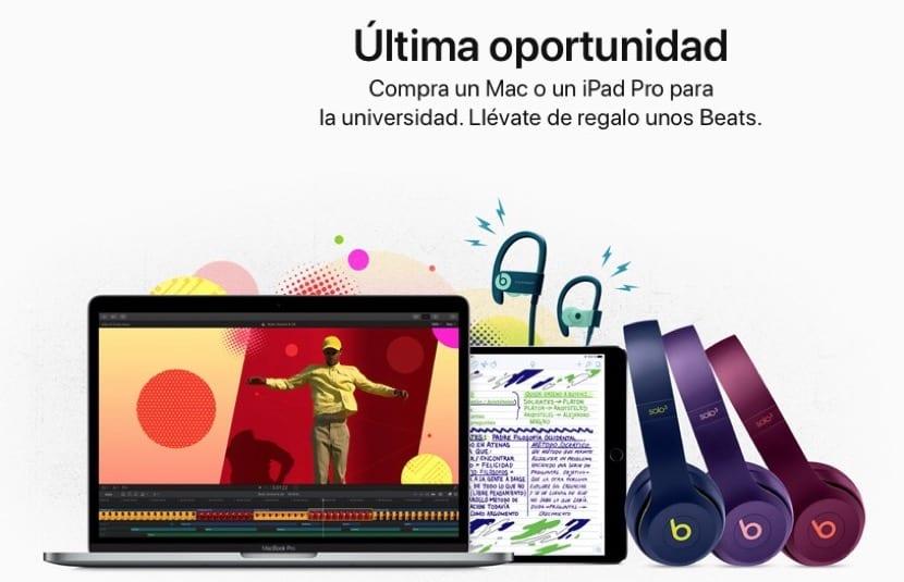 Auriculares Beats y Mac