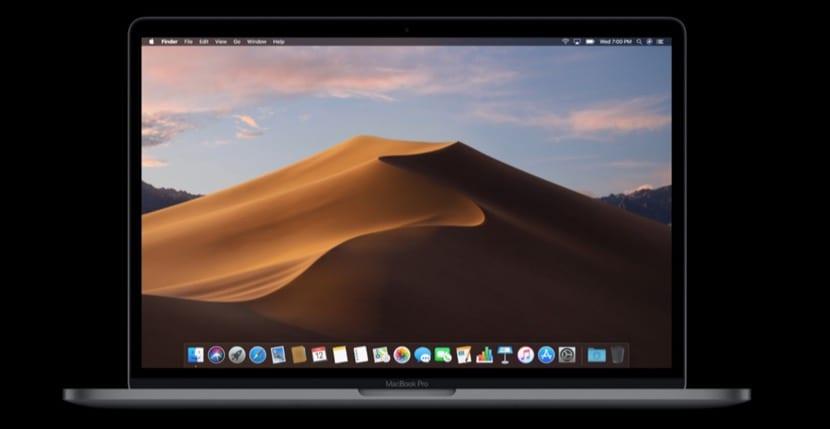 macOS Mojave en un MacBook