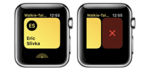 Walkie-Talkie Watch